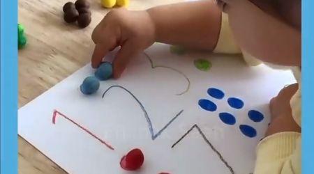 Renkli Hamurlarla Sayıları Öğrenme