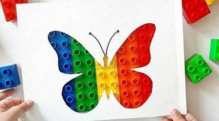 Doğada Kendiliğinden Renklenen Şablonlar
