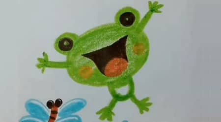Sevimli Kurbağa