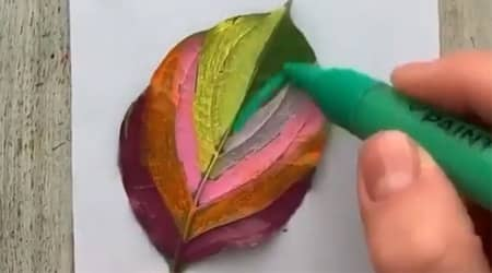 Yaprak Baskısı