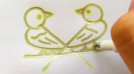 Sevimli Kuşlar Çizelim