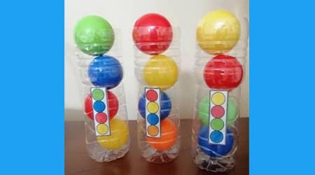 Renklere Göre Topları Sıralayalım