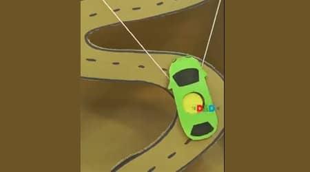 Kartondan Araba Oyunu Yapalım