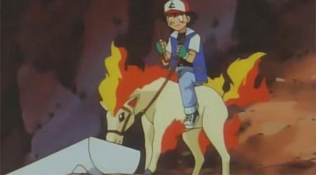 Kıvılcımlar Saçan Pokemon Atı